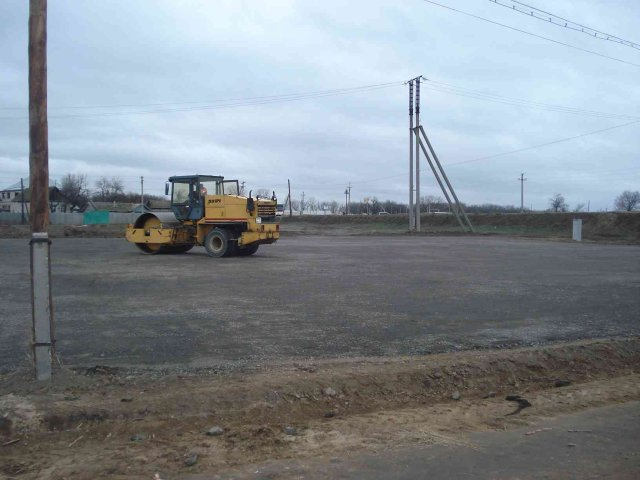 Строительство площадки «Госпитомник» (Волгоград)